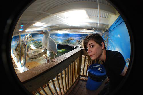 Birdie and Kristyn.