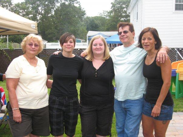 Kristyn's Mom, Kristyn, Me, Kristyn's Dad, Kristyn's Sister Lynn