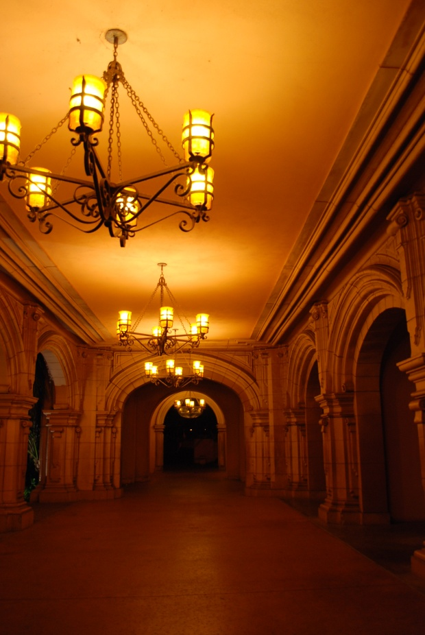 Hallway and lights